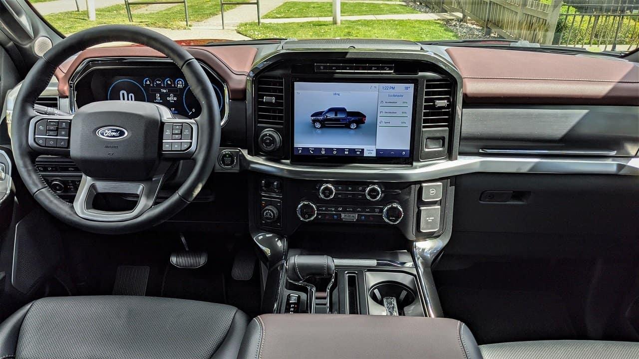 2021 Ford F150 Lariat Interior