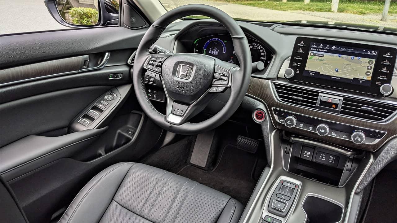 2021 Honda Accord Hybrid Touring Interior