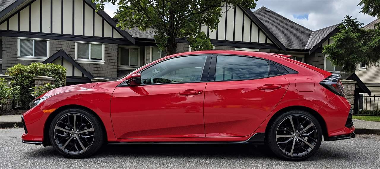 2021 Honda Civic Sport Touring Hatchback Review