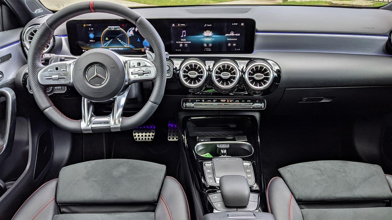 2021 Mercedes Benz A35 AMG interior