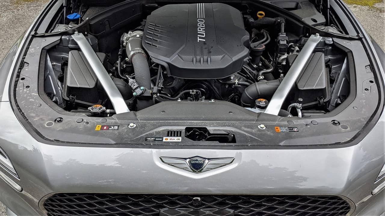 2022 Genesis G70 V6 Engine