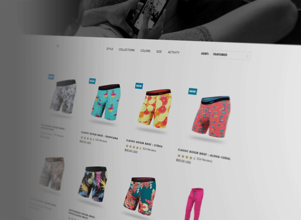 BN3TH Underwear website