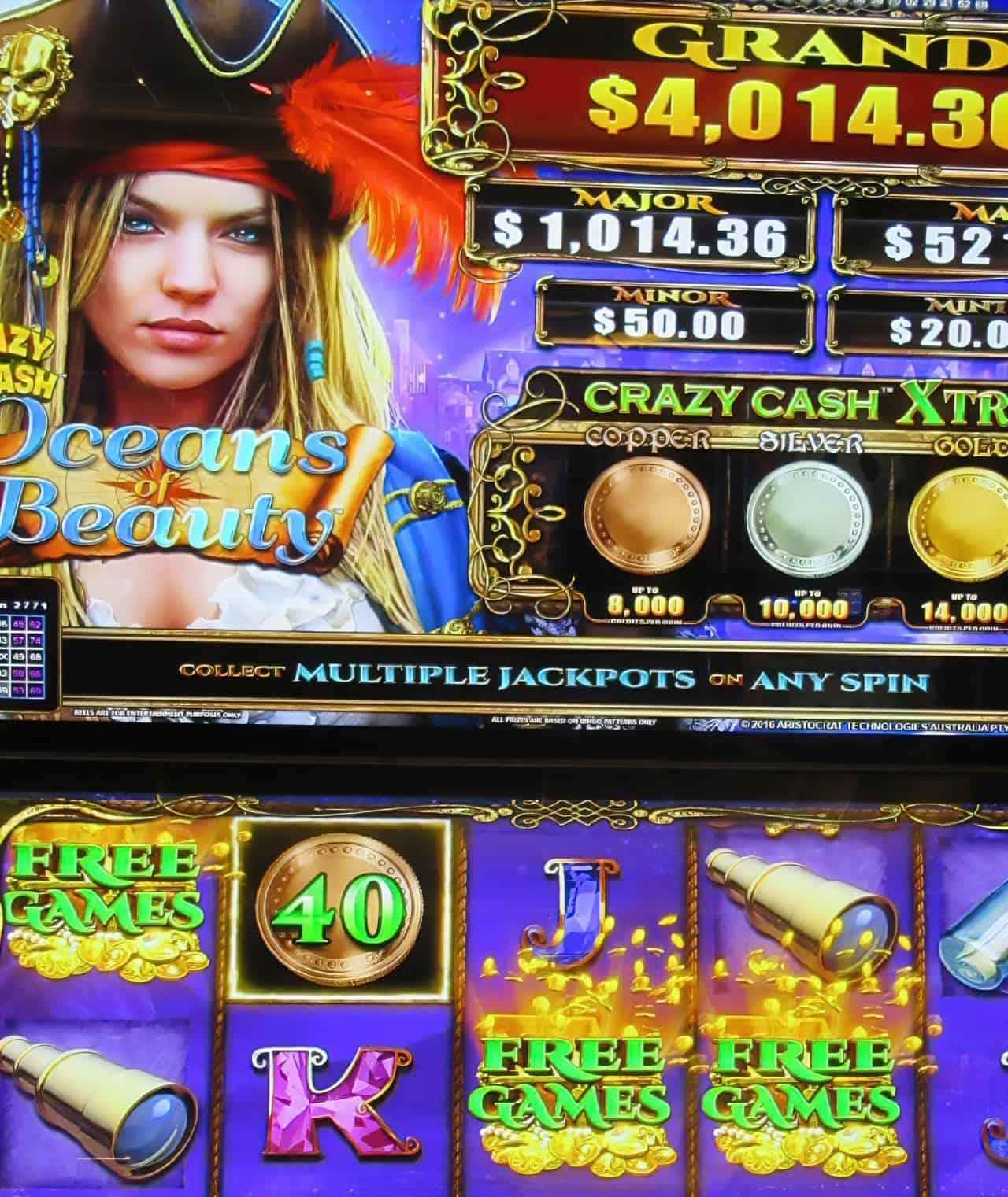 very old slot machine