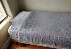 woven blanket from american blossom