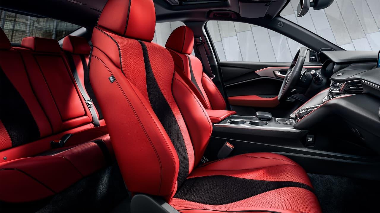 2021 Acura TLX A Spec interior
