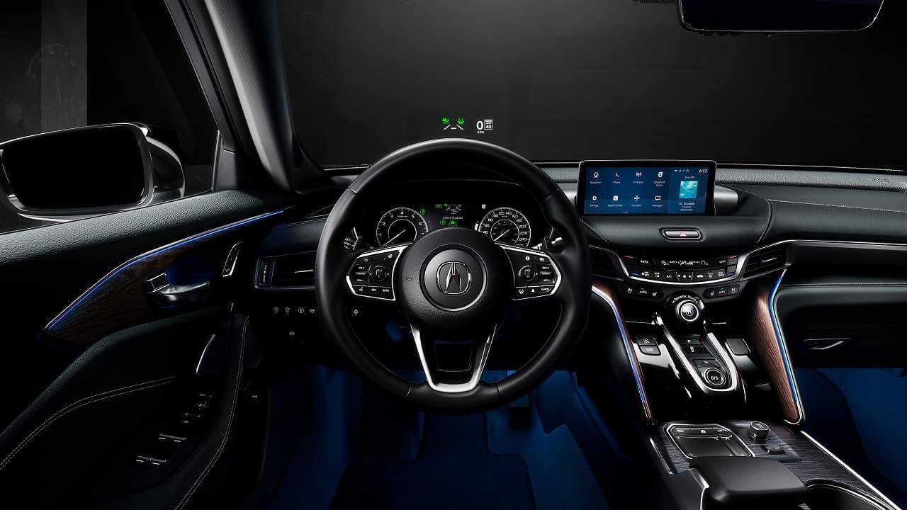 2021 Acura TLX Elite Interior