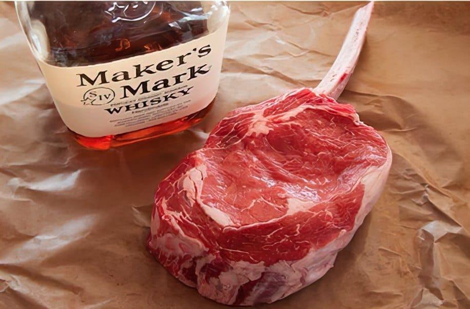 Dry aged bourbon steak recipe
