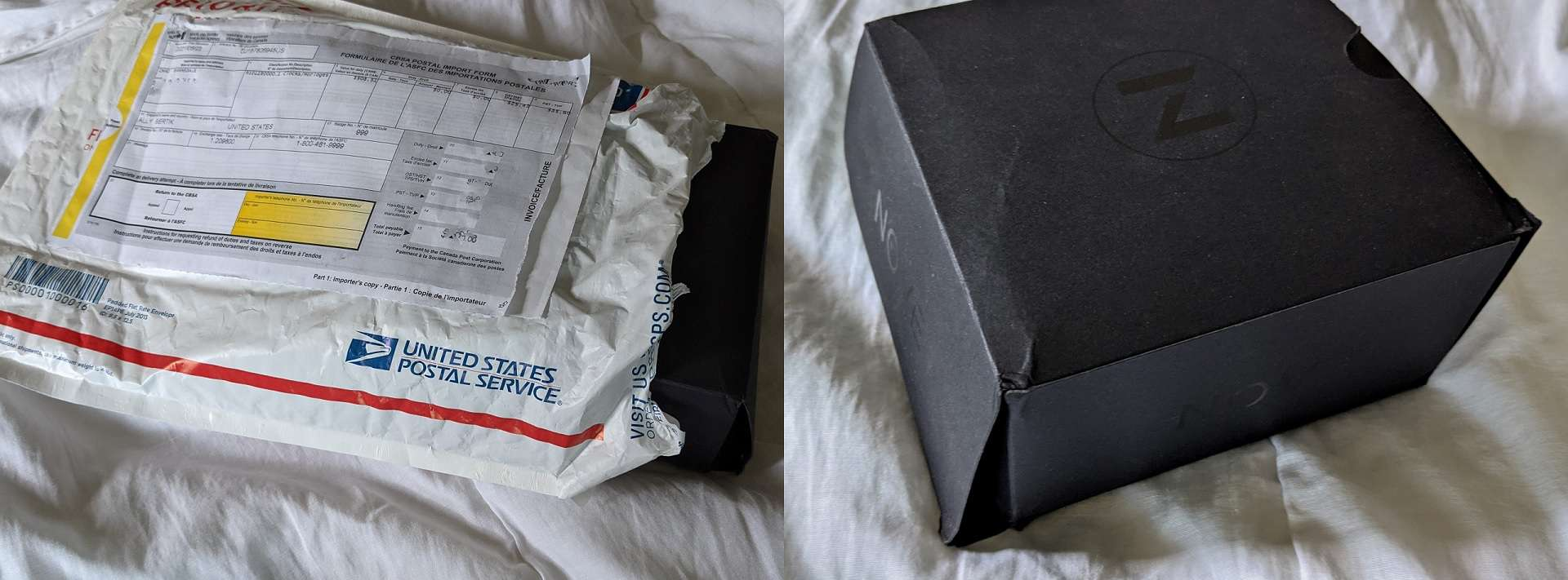 Nove Watch Packaging disappointment