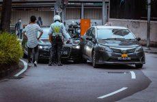 taxi car crash