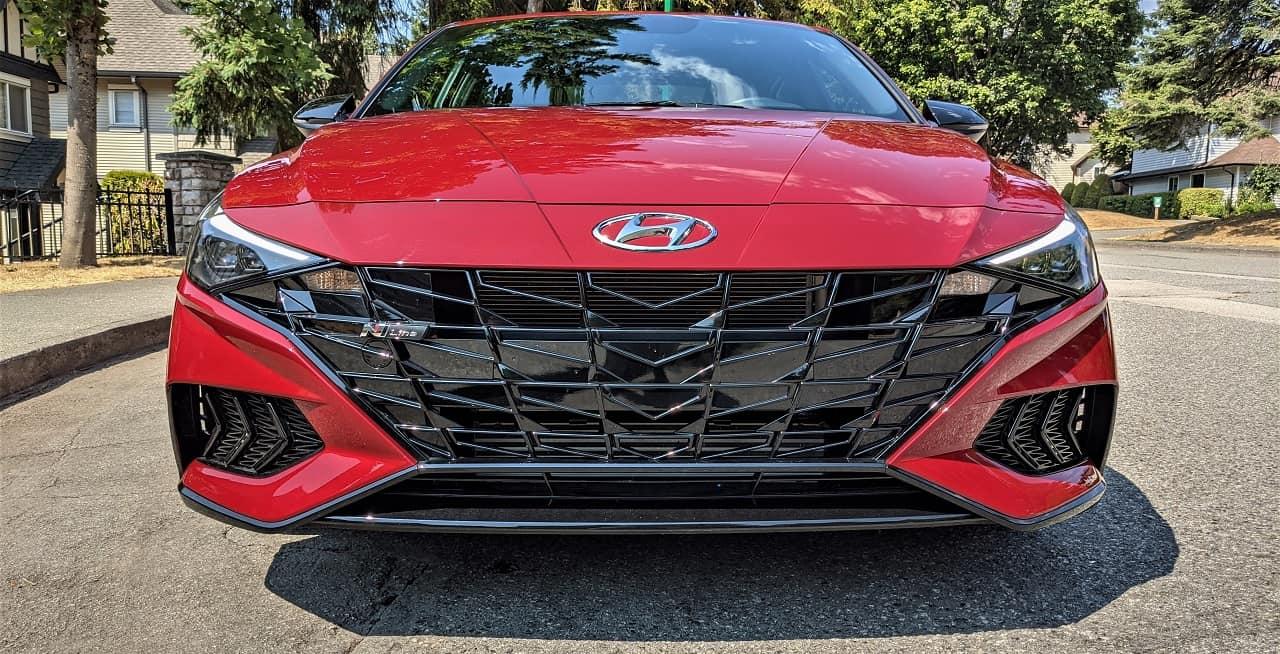 2021 Hyundai Elantra N Line front