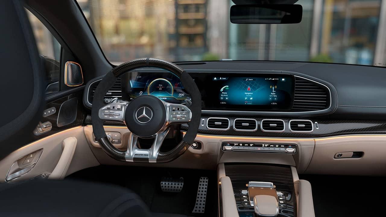 2021 Mercedes AMG GLS 63 Interior