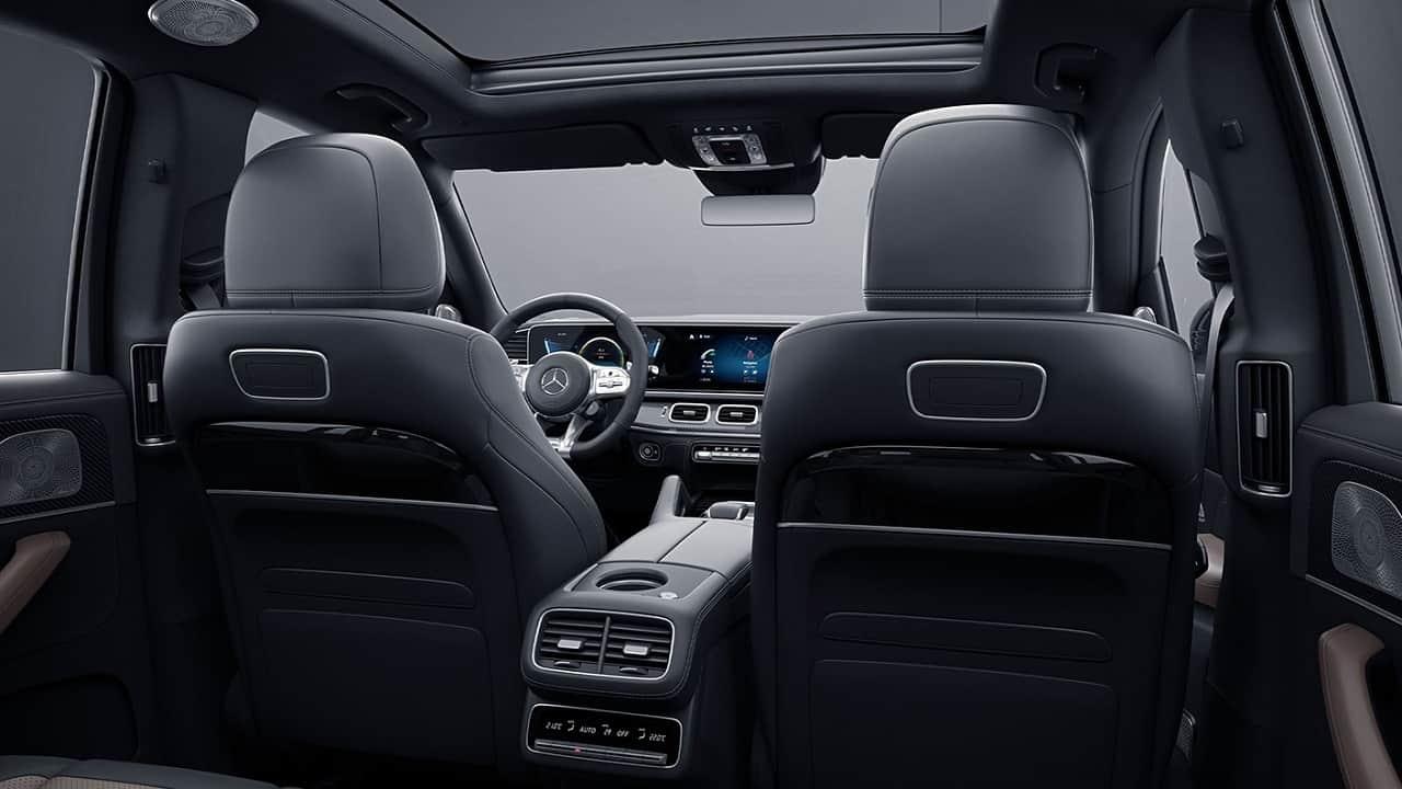 2021 Mercedes AMG GLS 63 back seat