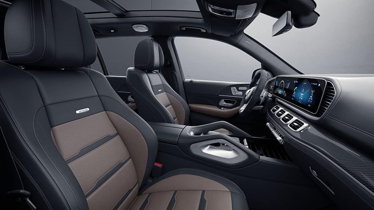 2021 Mercedes AMG GLS 63 dashboard