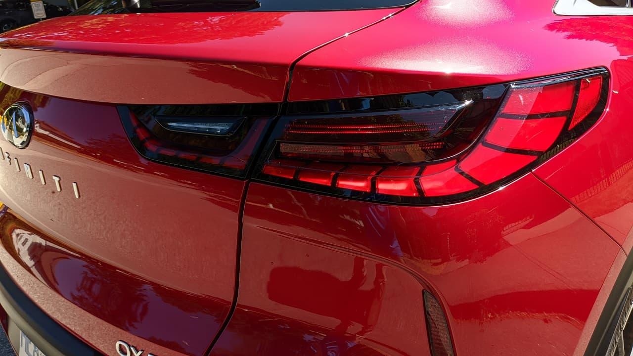 2022 Infiniti QX55 taillights