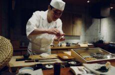 Japanese chef sushi