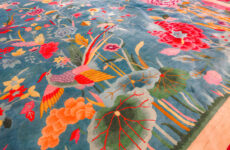 art deco style rug