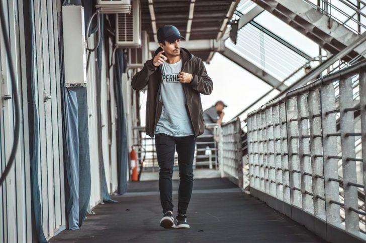 casual dressed man