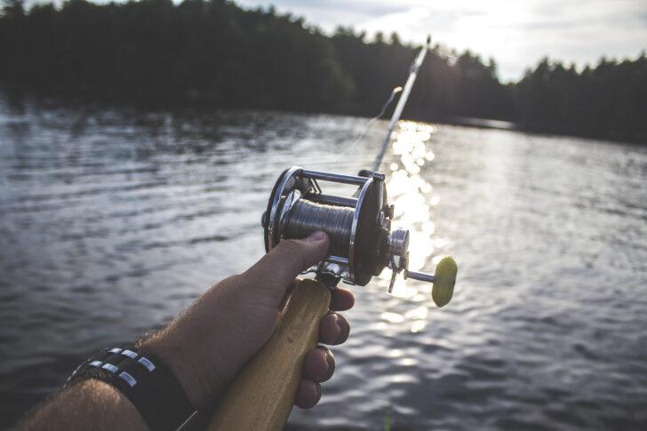 lake fishing reel