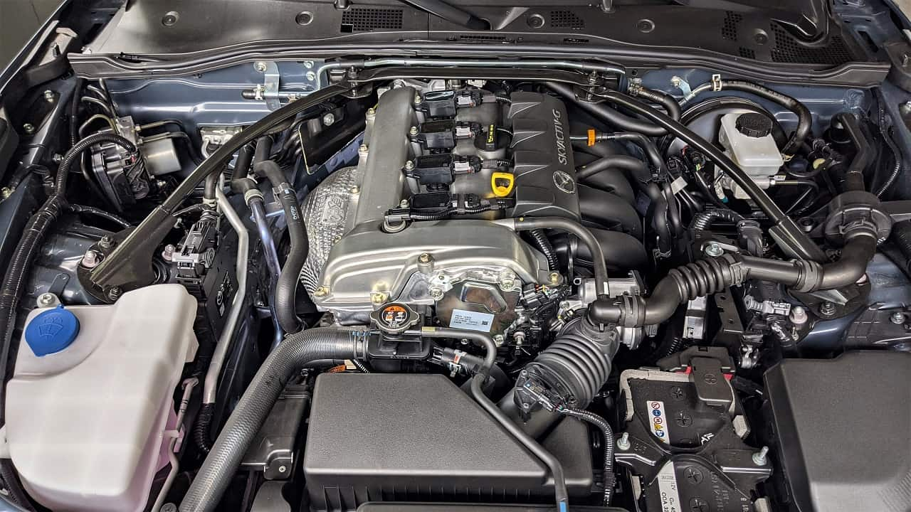 2021 Mazda MX 5 engine