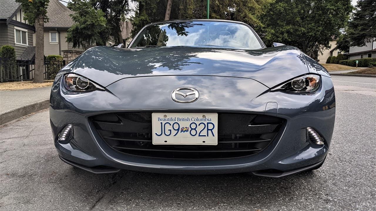 2021 Mazda MX 5 front