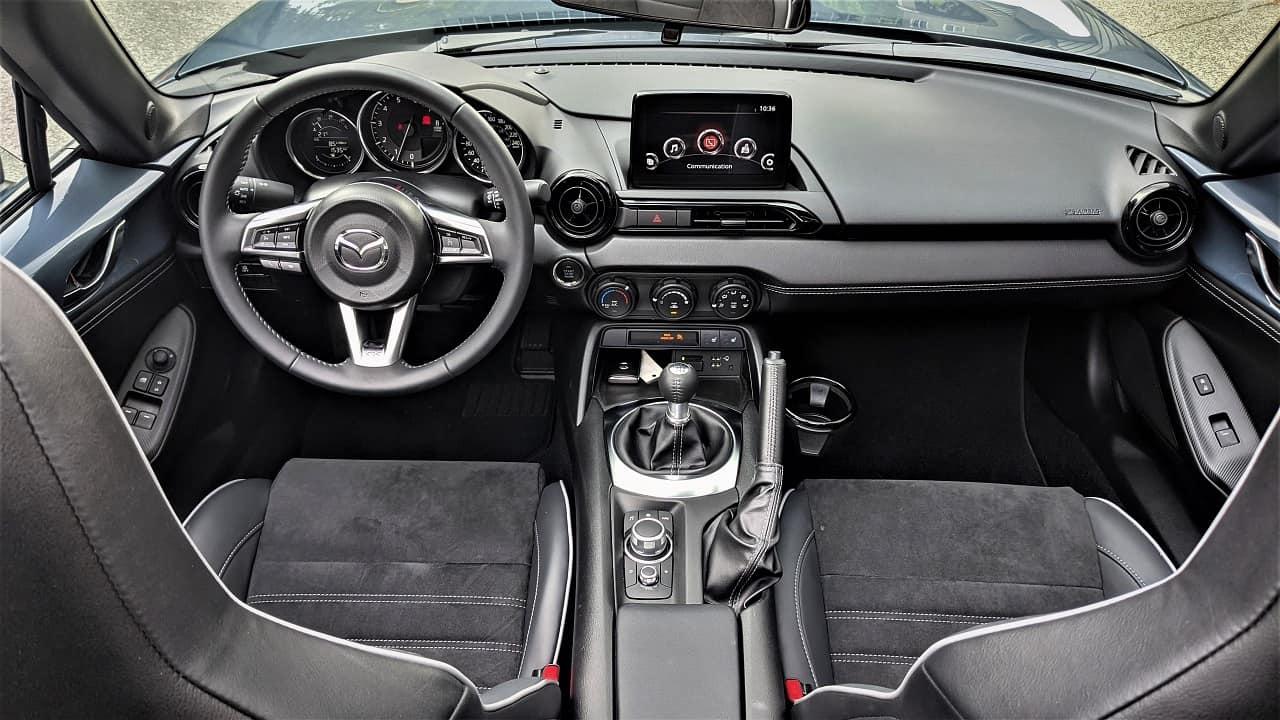 2021 Mazda MX 5 interior