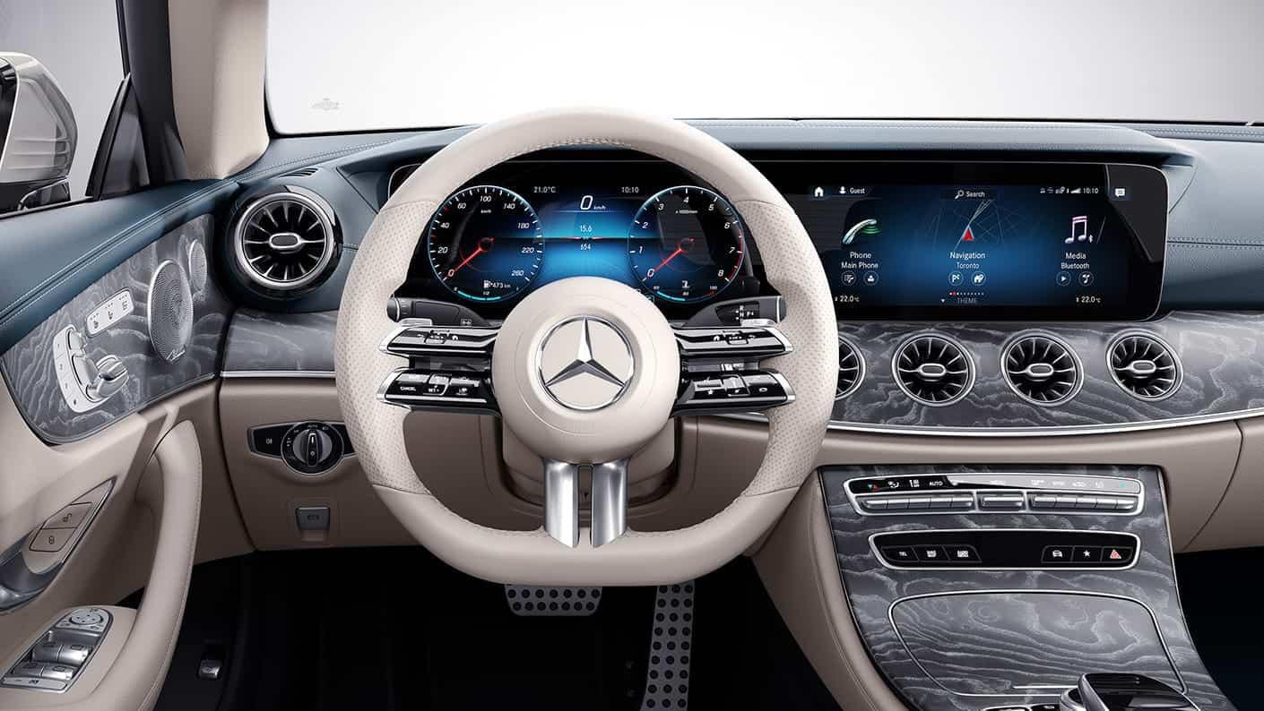 2021 Mercedes Benz E 450 Cabriolet interior 2
