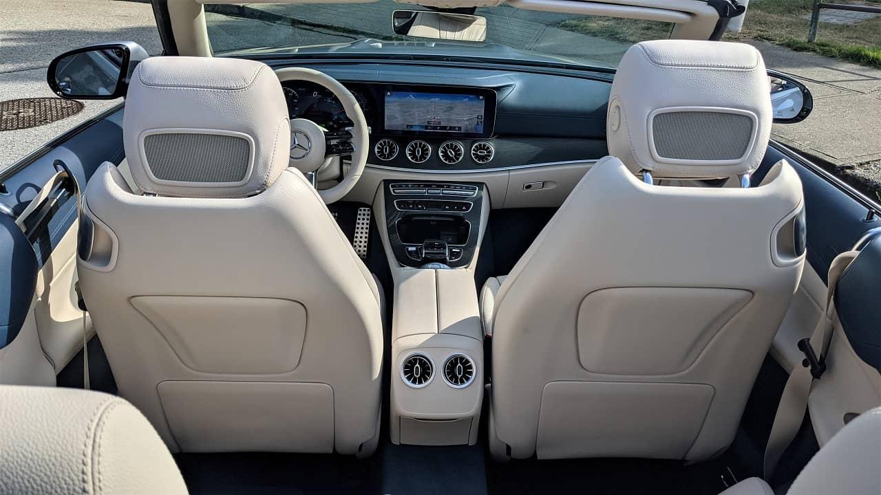 2021 Mercedes Benz E 450 Cabriolet interior