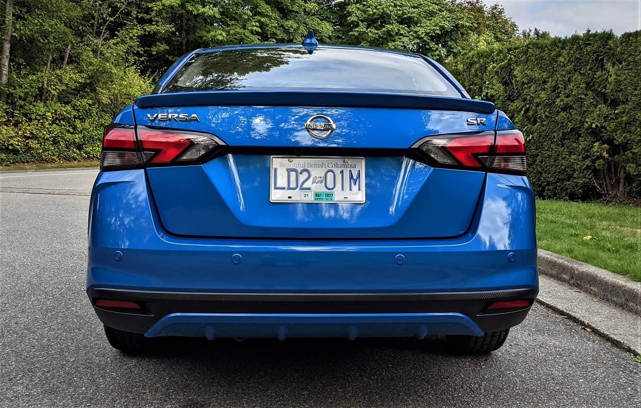 2021 Nissan Versa SR Rear