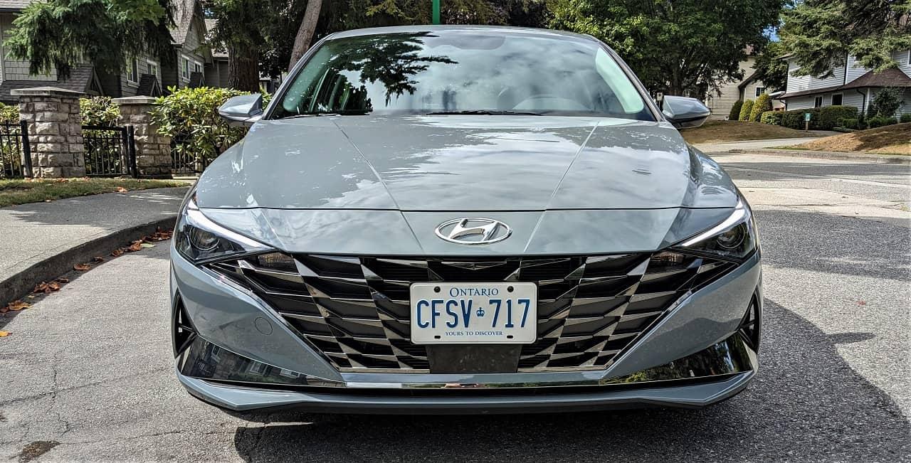 2022 Hyundai Elantra Hybrid Front
