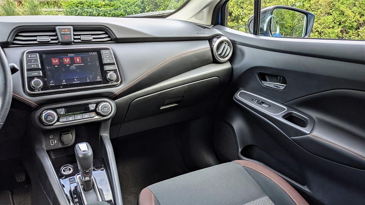 2022 Nissan Versa SR Interior