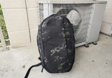 Able Carry Max Backpack outside wide