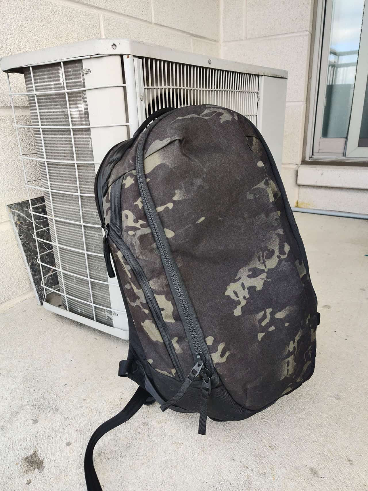 Able Carry Max Backpack outside