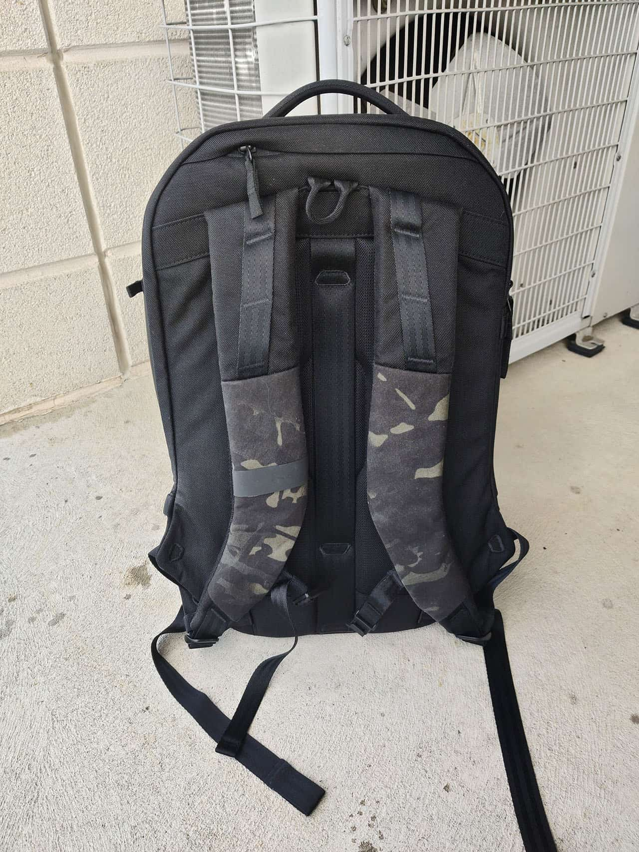Able Carry Max Backpack straps