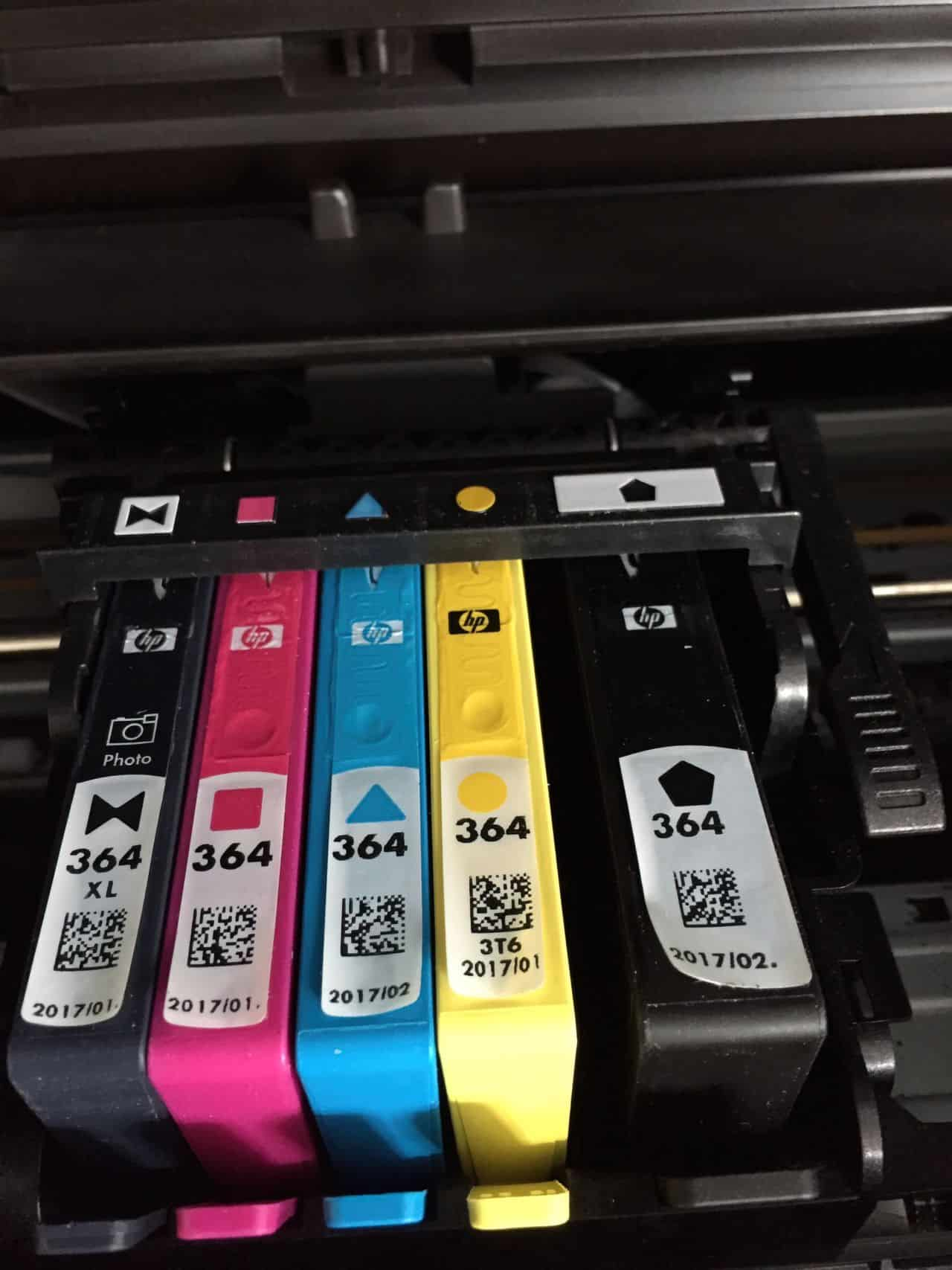 old printer cartridges