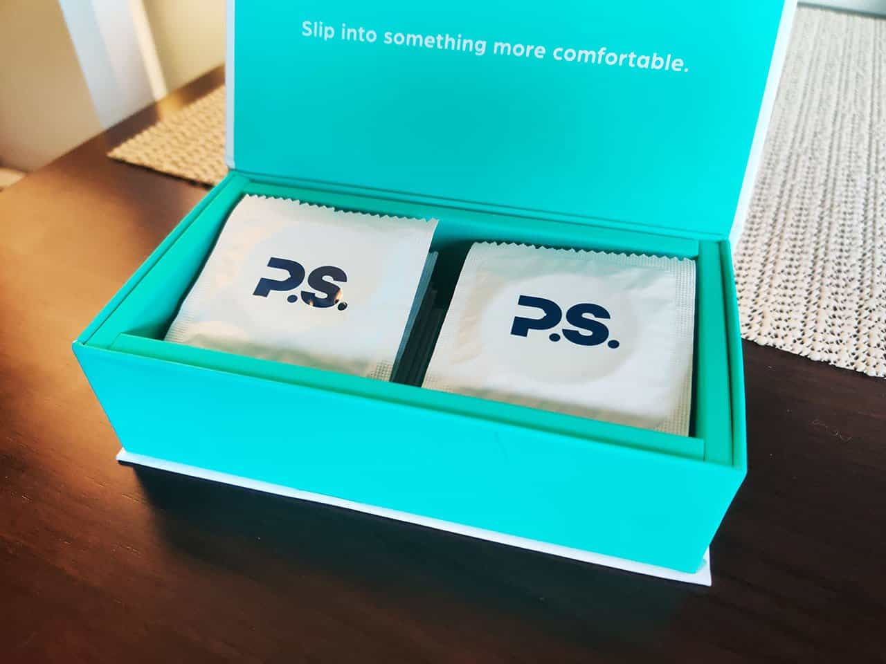 ps condoms in a box