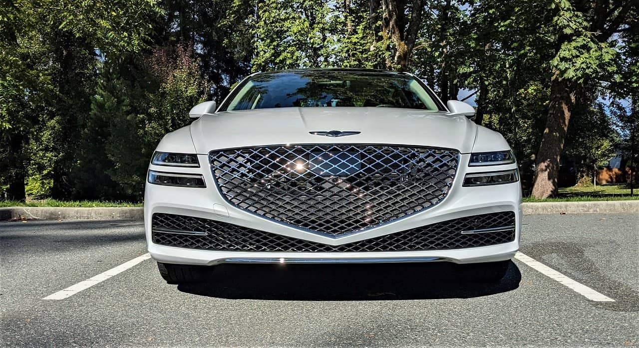 2021 Genesis G80 Prestige front