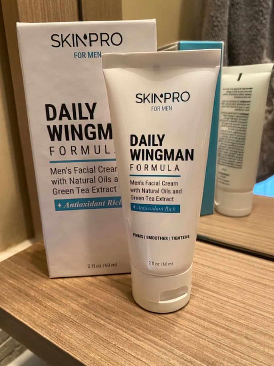 daily wingman skin cream